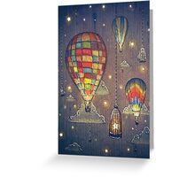 Sky Fishing Greeting Card