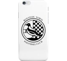 Royston FC Badge iPhone Case/Skin