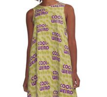 Cool-Weird A-Line Dress