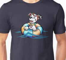 Swimming pup Unisex T-Shirt