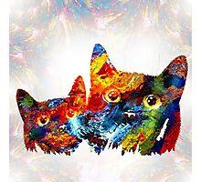 Cat 608 Photographic Print