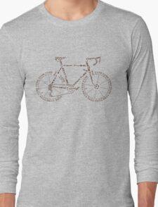 Bike in Words Long Sleeve T-Shirt