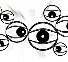 eyes looking everywhere by Ido Friedman (2DogsDesign)