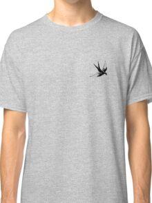 Sailor Jerry Swallow / Black & White Classic T-Shirt