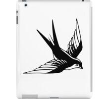 Sailor Jerry Swallow / Black & White iPad Case/Skin