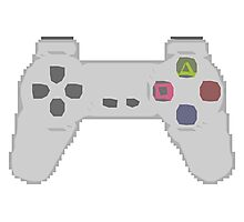 Playstation Controller Photographic Print