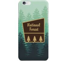 National Forest iPhone Case/Skin