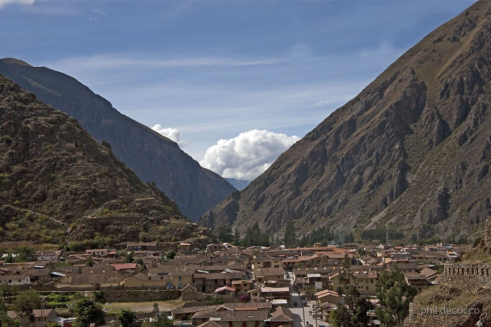 Sacred Valley View by phil decocco