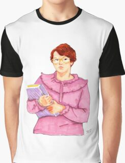Barb from Stranger Things Portrait Graphic T-Shirt