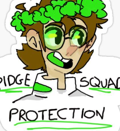 Pidge Protection Squad (Voltron Legendary Defender) Sticker