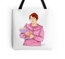 Barb from Stranger Things Portrait Tote Bag