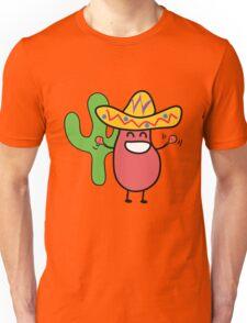 Little Mexican Jumping Bean - Cute Kids Cartoon Character Unisex T-Shirt