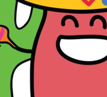 Little Mexican Jumping Bean - Cute Kids Cartoon Character Sticker