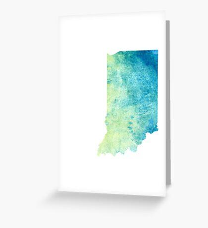 Indiana Greeting Card