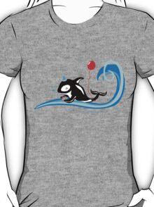 Having an Orca of a Time - Cute Kids Cartoon Character T-Shirt