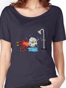 Meteor Shower - Cute Kids Cartoon Character Women's Relaxed Fit T-Shirt