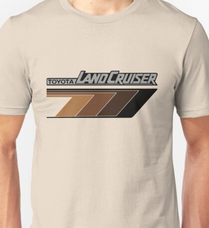 Land Cruiser body art series, brown arrows.  Unisex T-Shirt