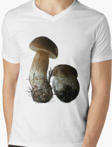 Boletus Edulis Mens V-Neck T-Shirt