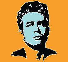 James Dean - Blue & Yellow Unisex T-Shirt
