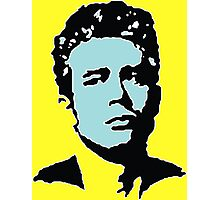 James Dean - Blue & Yellow Photographic Print