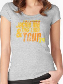 Jackie, Me & This Lady Tour (1974) Women's Fitted Scoop T-Shirt