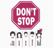 Don't Stop... (Pink Color) - Music Poster - Michael Jackson - Queen - Rihanna - Journey - Fleetwood Mac Kids Clothes