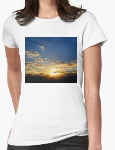 Stunning Sunset Womens Fitted T-Shirt