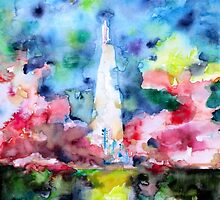 SPACE SHUTTLE LAUNCH by lautir