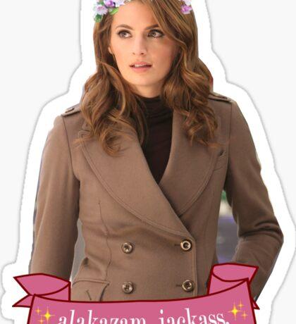 """Alakazam"" - Kate Beckett Sticker"