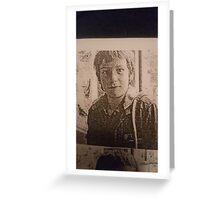 Adam wingrove  Greeting Card