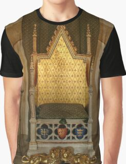 Gold Throne Graphic T-Shirt