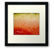 Watermelon Ombre Framed Print
