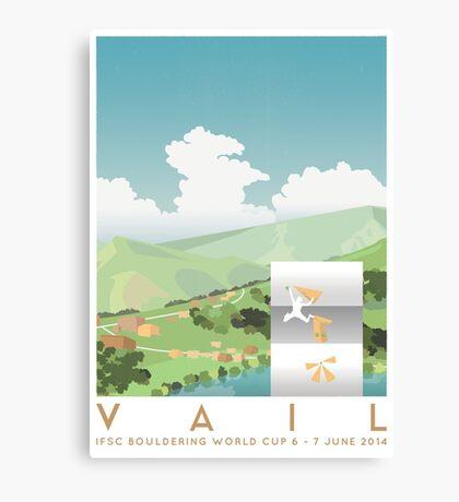 IFSC Bouldering World Cup - Vail Canvas Print