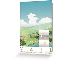 IFSC Bouldering World Cup - Vail Greeting Card
