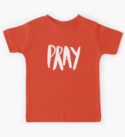 Pray Typography x Mint Kids Tee