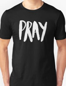 Pray Typography x Mint Unisex T-Shirt