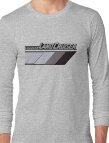Land Cruiser body art series, grey tri-tone.  Long Sleeve T-Shirt