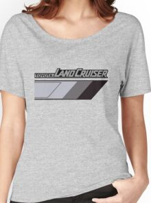 Land Cruiser body art series, grey tri-tone.  Women's Relaxed Fit T-Shirt