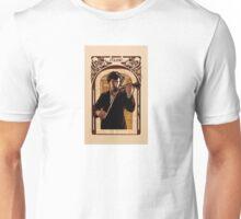 Art Nouveau Sherlock: The Violinist Unisex T-Shirt