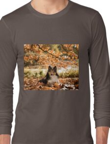 Sheltie Dog Long Sleeve T-Shirt