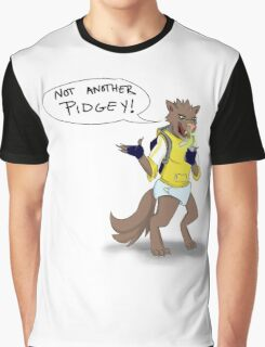Pokemon Go Wolf Graphic T-Shirt