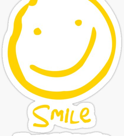 Smile if You're Bored (Text Version) Sticker