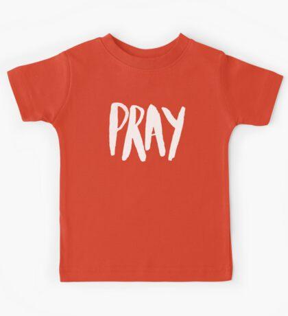 Pray Typography x Mustard Kids Tee
