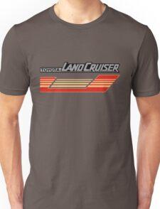 Land Cruiser body art series, red gold stripe.  Unisex T-Shirt