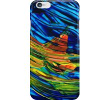 Colorful Abstract Art - Energy Flow 5 - By Sharon Cummings iPhone Case/Skin