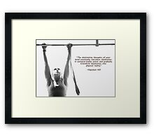 Dominating Thoughts Framed Print
