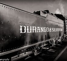 Durrango Silverton Steam Train  by John  Kapusta