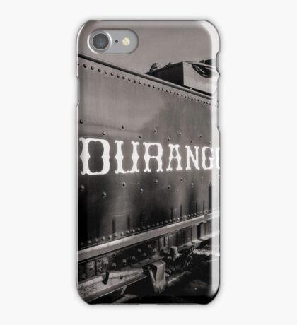 Durrango Silverton Steam Train  iPhone Case/Skin