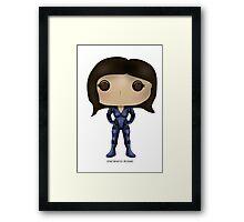 Mass Effect Ashley Williams Framed Print