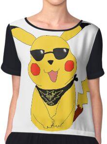Team Instinct Pikachu Chiffon Top